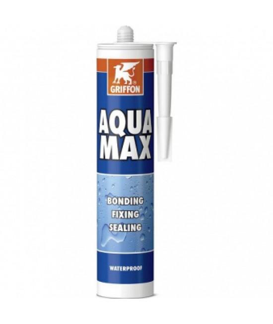 Герметик для бассейна Aqua Max 425 г GRIFFON, Белый
