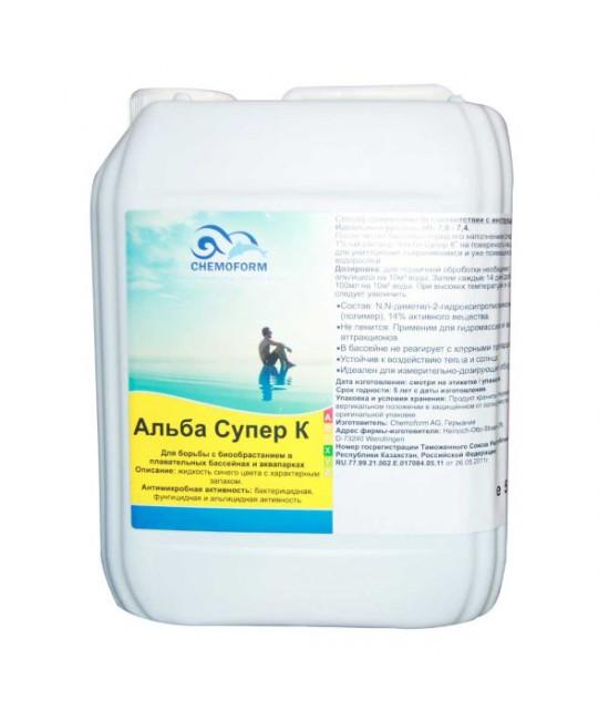 Средство против водорослей Альба Супер К, 5 л