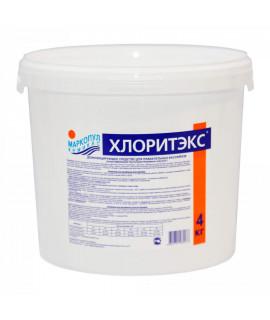 Хлор гранулы Маркопул Кемиклс Хлоритэкс 4кг