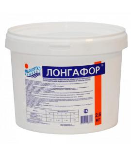 Хлор таблетки 200г Маркопул Кемиклс Лонгафор 2,6кг