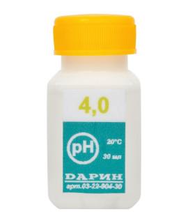 Калибровочный раствор рН 4.0 (30мл) Дарин