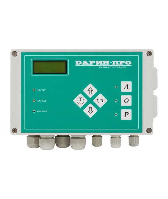 Управление фильтрацией и нагревом бассейна Дарин Таймер