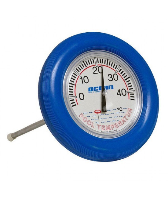 Термометр круглый, плавающий, D=18 см, синий Ocean (Австрия)