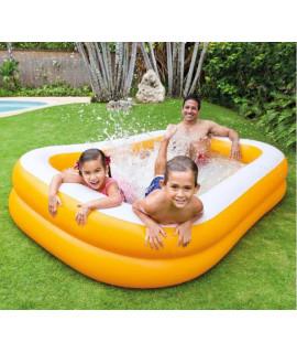 "Детский надувной бассейн 229х147х46см ""Мандарин"", от 6 лет"