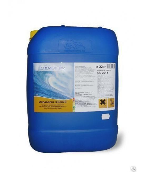 Активный кислород Аквабланк, жидкий 22 кг