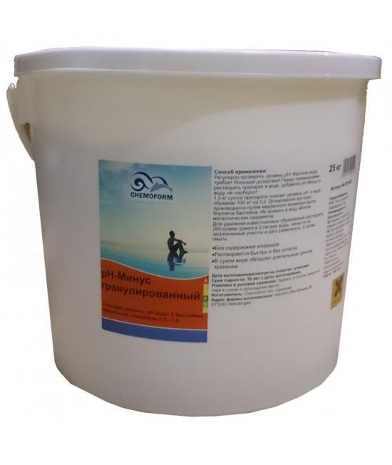 Chemoform рН минус гранулы, 25 кг