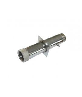 """Труба проходная из нержавеющей стали, ВР 1 1/2""""/НР 1 1/2"""", длина 350 мм"""