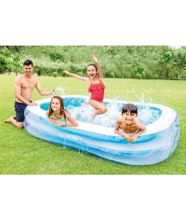 """Детский надувной бассейн 262х175х56см """"Ванна"""" 749л, от 6 лет (INTEX)"""