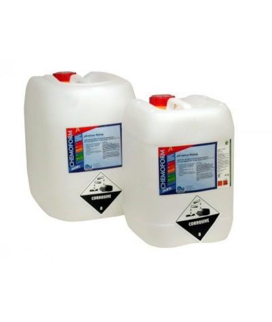 Жидкое средство для повышения уровня pH воды в бассейне Chemoform 35л.