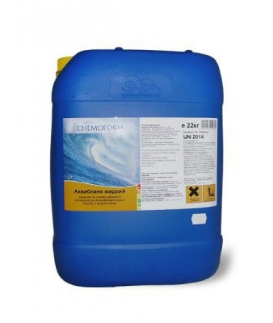 Активный кислород, жидкий 25 кг (на основе пероксида водорода)