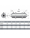 Теплообменник Pahlen Hi-Flow HF 13 (гориз)