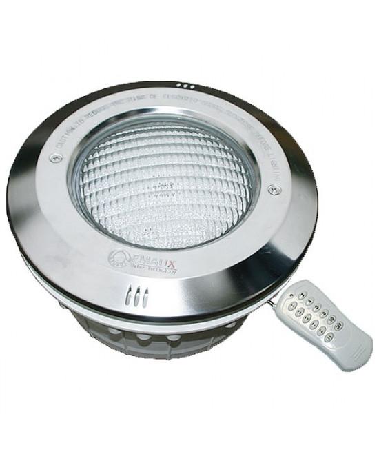 Прожектор LED-NP300-S с накладкой из нержавеющей стали (16Вт/12В) универсальный