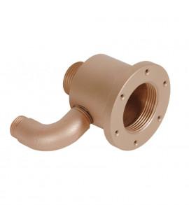 """Форсунка г/м """"Standard"""" mini, закл.часть, 80 мм, для плит. и плен. басс., бронза"""