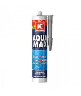 Герметик бассейновый универсальный Aqua Max 425 г GRIFFON , Белый