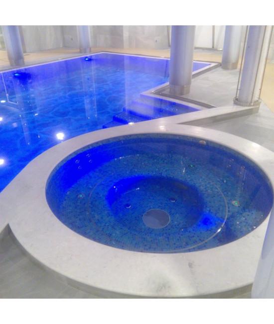 Железобетонный бассейн рассчитывается согласно проекту
