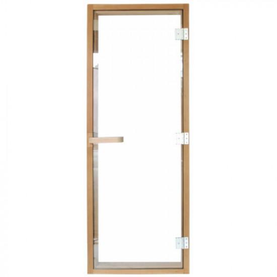 Дверь для сауны 1890х690 (6мм) левая