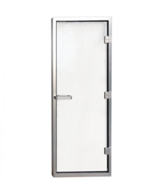 Дверь для хаммама 1890х690 (8мм) правая, нерж. сталь