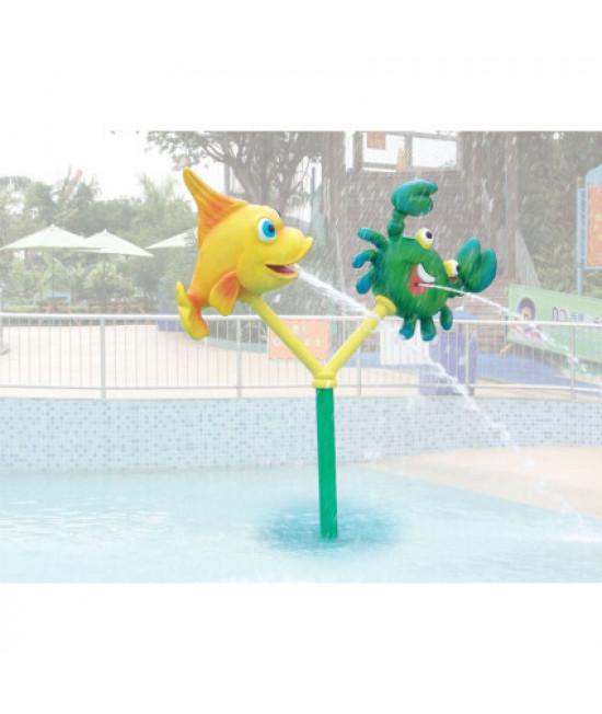 Водный аттракцион фонтан «Водный мир» TY-711910