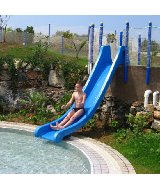 Водный аттракцион горка Jump Slide Polin