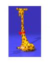 Водный аттракцион душ Жираф
