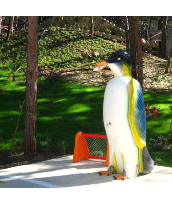 Водный аттракцион душ Пингвин