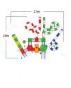 Комплекс водных горок Arihant WAPS 7A (27.0х24.0 м)