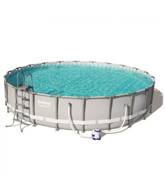 Каркасный бассейн Bestway 56675 (610х122) с картриджным фильтром