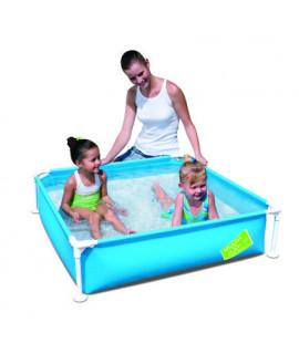 Детский каркасный бассейн Bestway 56217 (122х122х30,5) Blue