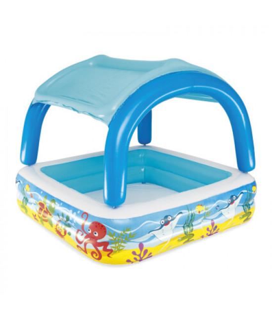 Детский надувной бассейн Bestway 52192 (140х140х114)