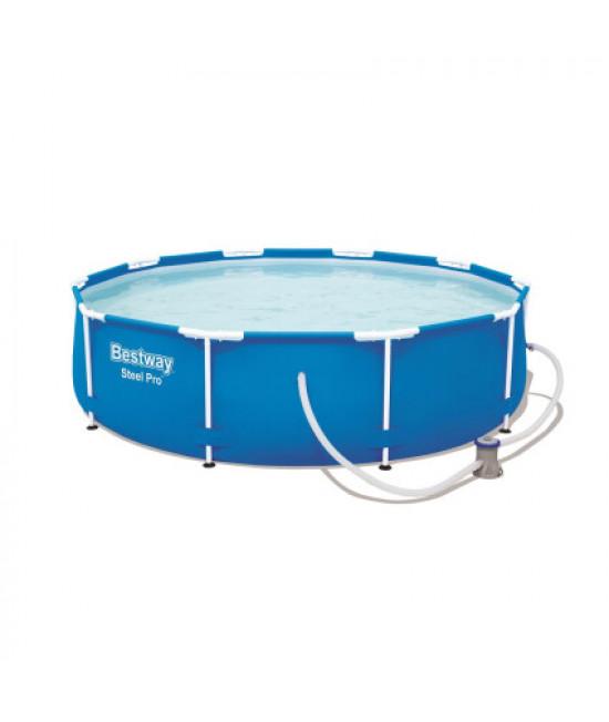 Каркасный бассейн Bestway 56679 (305х76) с картриджным фильтром
