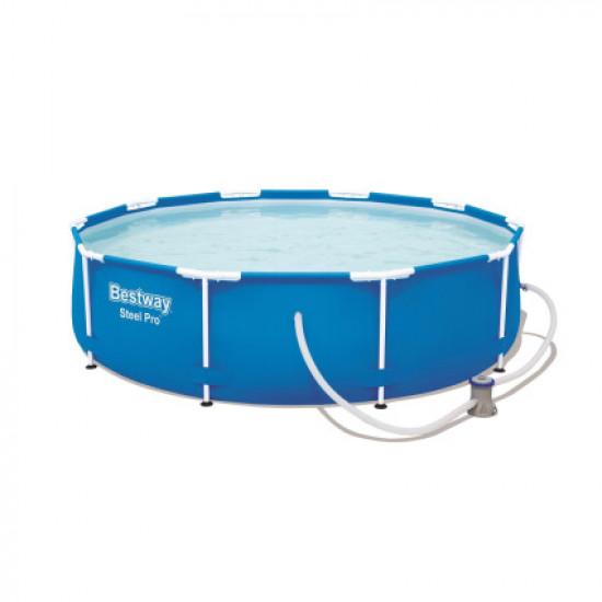 Каркасный бассейн Bestway 56681 (366х76) с картриджным фильтром