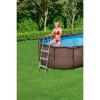 Каркасный бассейн Bestway Ротанг 56946 (488х305х107) с песочным фильтром