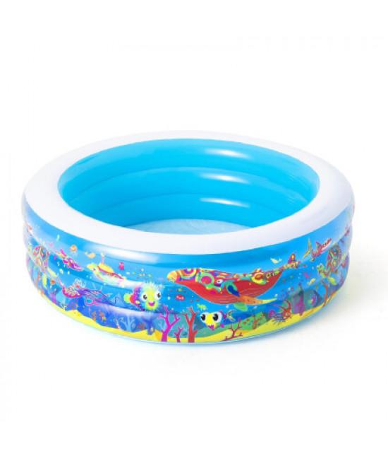 Детский надувной бассейн Bestway 51121 (152 х 51см) Подводный мир