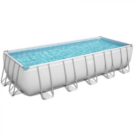 Каркасный бассейн Bestway 5611Z (640х274х132 см) с картриджным фильтром, лестницей и тентом