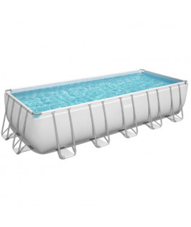 Каркасный бассейн Bestway (640х274х132 см) с песочным фильтром, лестницей и тентом
