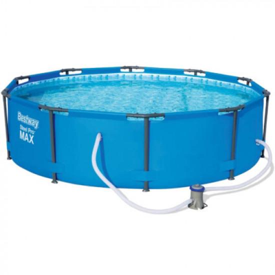 Каркасный бассейн Bestway 14415 (305х100 см) с картриджным фильтром