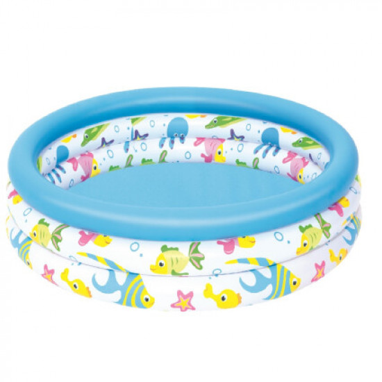 Детский надувной бассейн Bestway 51008 (102х25 см)