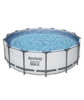 Каркасный бассейн Bestway 5612Z (488х122 см) с картриджным фильтром, лестницей и тентом