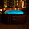 Гидромассажный бассейн Bestway Lay-Z-SPA 60033 Maldives HydroJet Pro (201x201x80 см)