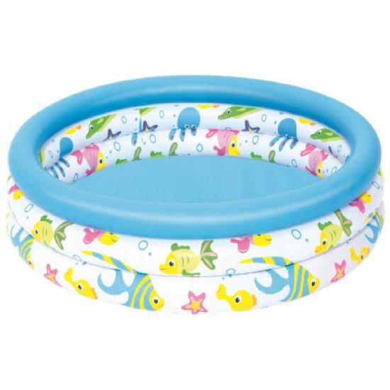Детский надувной бассейн Bestway 51008 (102x25 см)