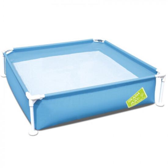 Детский каркасный бассейн Bestway 56217 (122х122х30.5 см) Blue