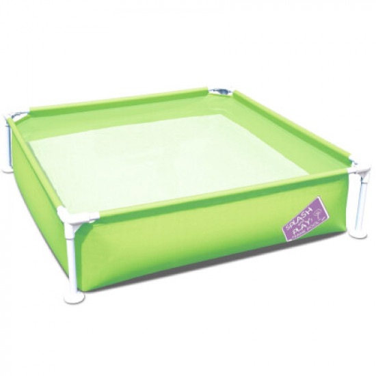 Детский каркасный бассейн Bestway 56217 (122х122х30.5 см) Green