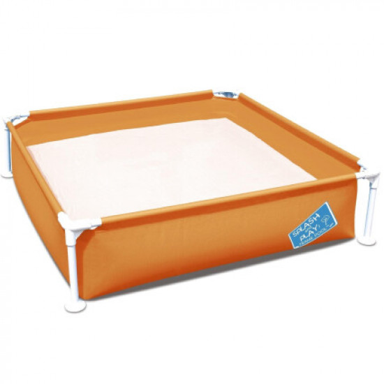 Детский каркасный бассейн Bestway 56217 (122х122х30.5 см) Orange