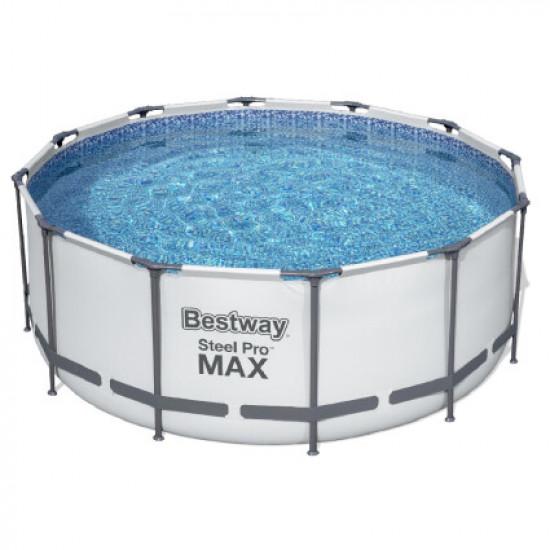 Каркасный круглый бассейн Bestway 56420 (366х122) с картриджным фильтром