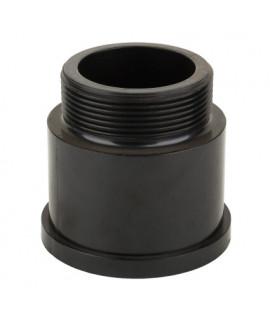 Адаптер Aquaviva муфты верхнего соединения 2,0 черный (01013099)