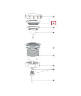 Прижимная гайка лампы для прожектора Aquaviva LED/UL-P50 Lights