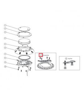 Крепление для прожекторов Aquaviva LED/UL-P100 под бетон