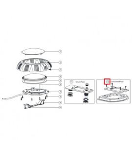 Крепление для прожекторов Aquaviva LED/UL-TP100 под бетон