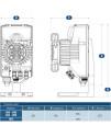Мембранный дозирующий насос Aquaviva TPR803 Smart Plus PH/Cl 0.1-54 л/ч