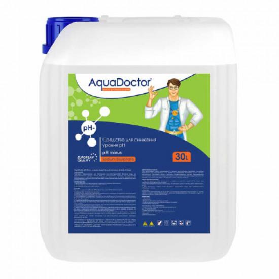 Жидкое средство для снижения pH AquaDoctor pH Minus 30 л.